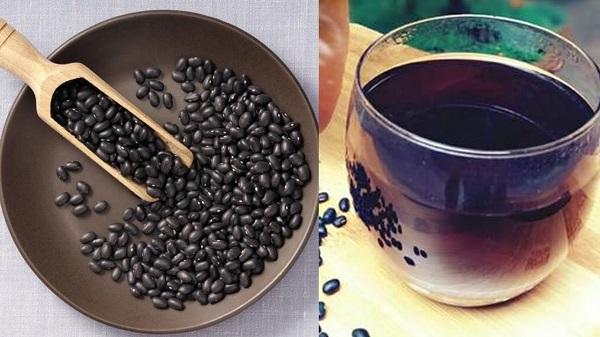 Nước dừa, nước đỗ đen