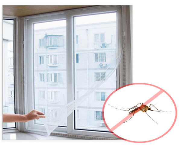 Sử dụng màn, rèm và lưới chống muỗi nơi sinh hoạt và ngủ nghỉ