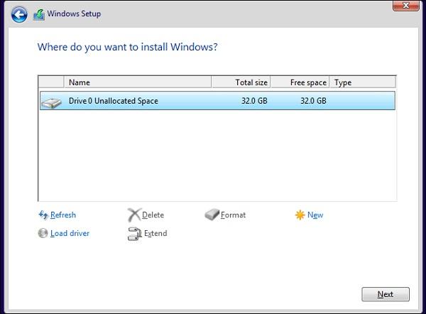 Hoàn thành các bước để sửa lỗi a required CD/DVD drive device driver is missing