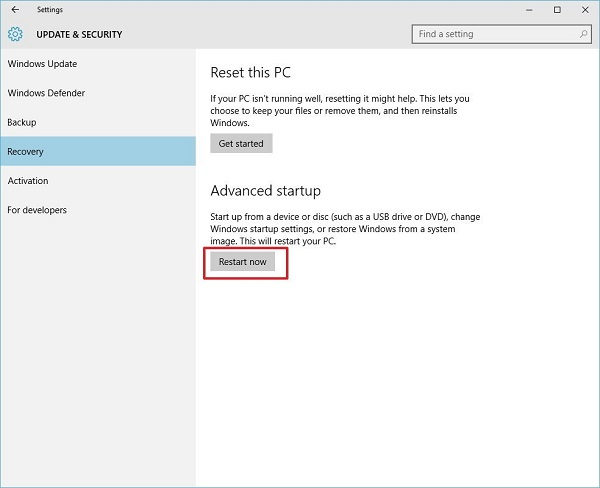 Sử dụng System File Checker