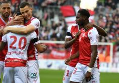 Niềm vui của đội tuyển Reims