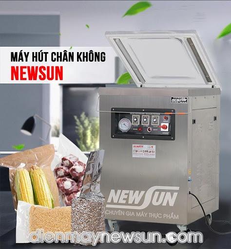 Một chiếc máy ép chân không của NEWSUN